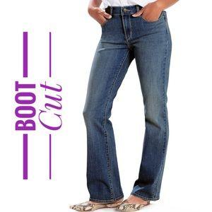 Plus Size LEVI'S Classic Boot Cut Jeans